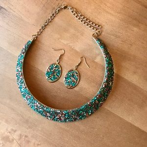 Jewelry - Necklace Earring Set